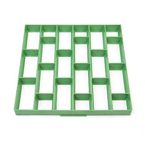 Molde de plástico para hacer caminos, para hacer pavimentos, para jardín, piedra, calzada, pavimentación, ladrillo, pavimentación, etc.