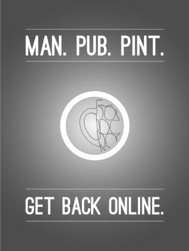 Man Pub Pint (English Edition)