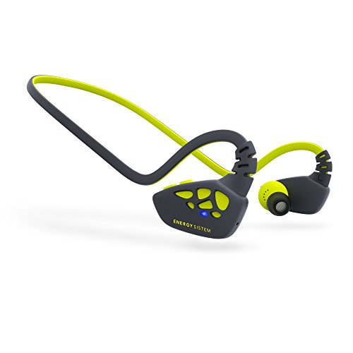 Energy Sistem Earphones Sport 3 Bluetooth (Auriculares inalambricos, Bluetooth, APTX, Secrure-Fit, IPX4,Control Talk) Amarillo