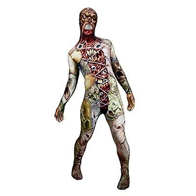 Morphsuits Men's Monster Facelift Skinsuit, Large