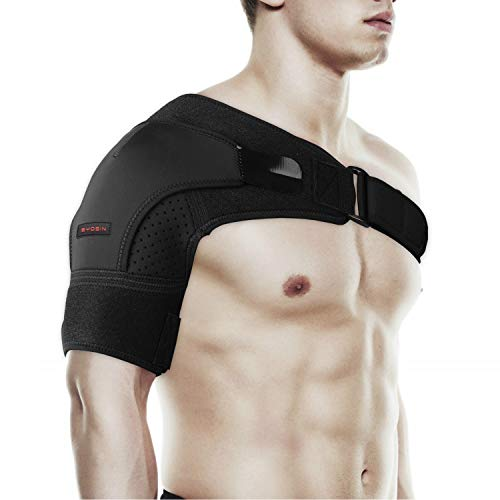 Shoulder Brace by SYOSIN - Rotator Cuff Support for Injury Prevention, Dislocated AC Joint, Labrum...
