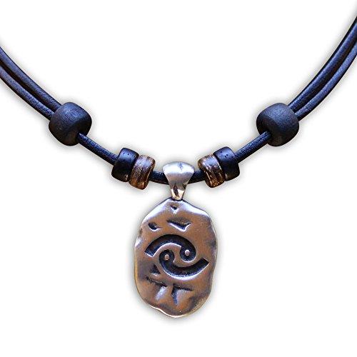 HANA LIMA 1 von 12 Sternzeichen Tierkreiszeichen an Verstellbarer Halskette Horoskop Horoscope Lederkette Surferkette D - Krebs (Cancer) / 22. Juni - 22. Juli