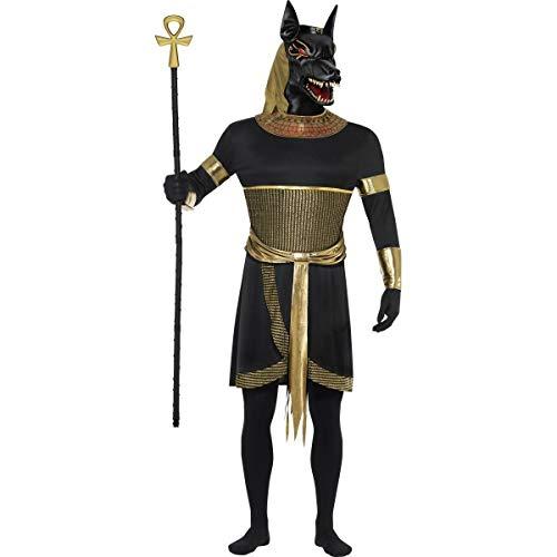 Smiffy's Disfraz de Anubis el Chacal para Hombre en Varias Tallas