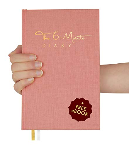The 6-Minute Diary (El Diario de 6 Minutos) | 6 Minutes a Day for More Mindfulness, Happiness and Productivity | A Simple and Effective Gratitude Journal and Undated Daily Planner