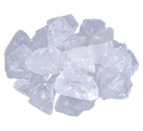 Bergkristall Wassersteine | 100% naturbelassene Rohsteine | 1 Kg Lebensquelle Plus