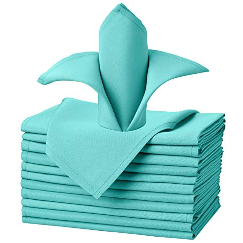 VEEYOO Cloth Napkins - Set of 12 Pieces 20 x 20 Inch Solid...