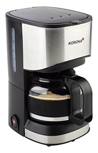 Korona 12015 Kaffeeautomat perfekt für Singles und kleine Haushalte | 0,7 Liter für 5 Tassen frischen Kaffee | 550 Watt | Warmhalteplatte für heißen Kaffeegenuss