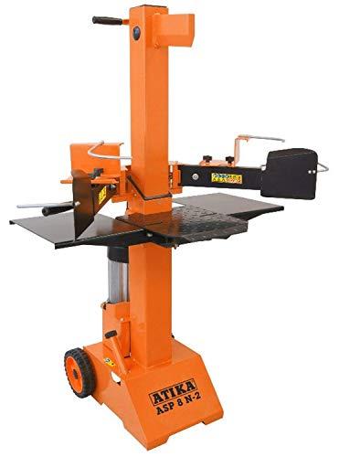 ATIKA 301731 Hydraulikspalter ASP 8 N-2 Kurzholzspalter bis 550 mm | 8 Tonnen Spaltkraft 8t | Brennholzspalter 400 V | Holzspalter stehend 3500 W