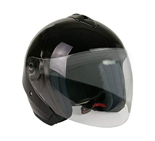 KEN ROD Casco para Moto   Jet Casco Sprint   Casco de Motocicleta Abierto  ...