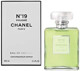 C hàNè l No19 Poudre Eau de Parfum Spray For Women 3.4 oz./ 100 ml.