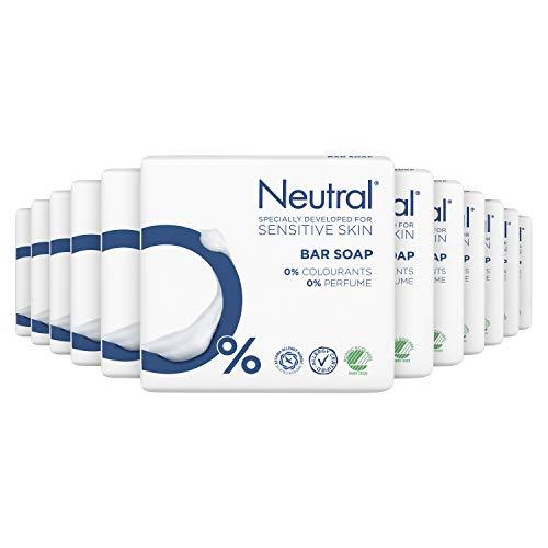 Neutral Zeep Parfumvrij 12 x 2 x 100 g Voordeelverpakking