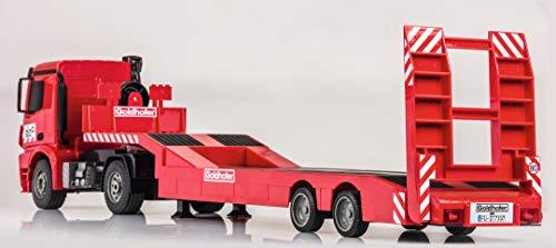 RC Auto kaufen Baufahrzeug Bild 3: Carson 500907307 1:20 MB Arocs Goldhofer Spiel*