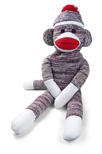 Pennington Bear Company The Original Sock Monkey, Hand-Knit, Plush Material, 20' inch