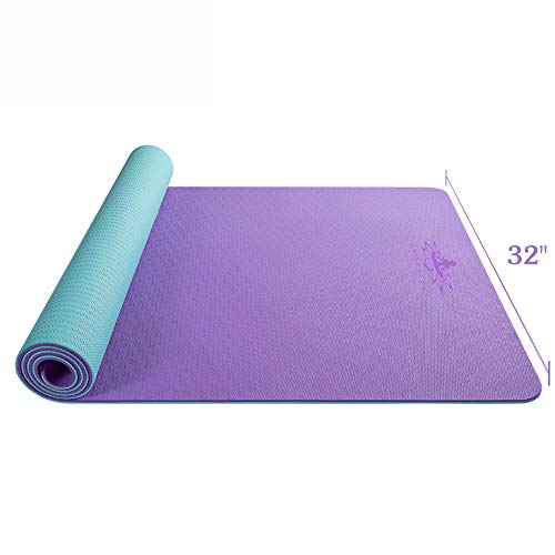 Hatha Yoga Large TPE Yoga Mat - 72