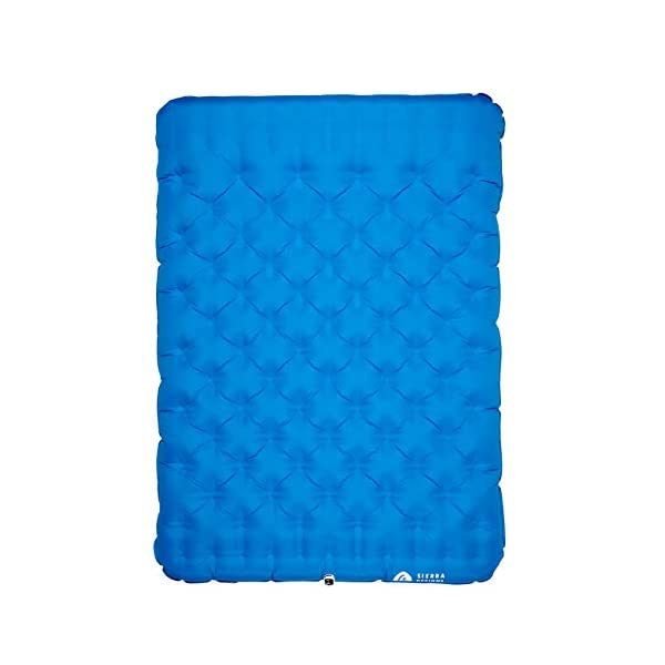 Sierra Designs 2 Person Queen Camping Air Bed Mattress for Car Camping, Travel, and...