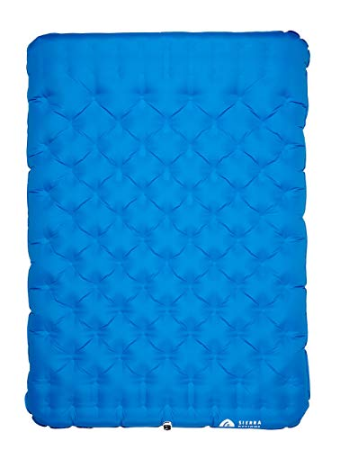 Sierra Designs 2 Person Queen Camping Air Bed Mattress for Car Camping, Travel, and Camp (Pump Included) Arkansas
