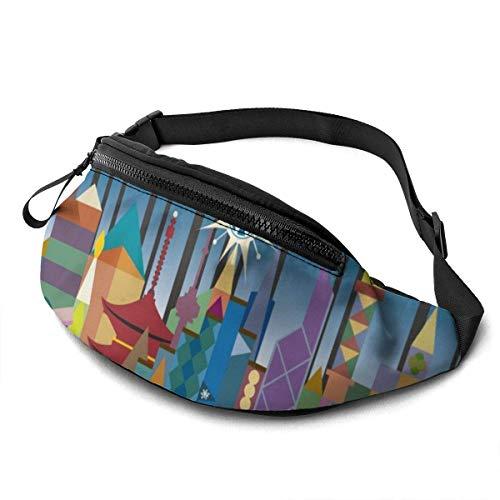 XCNGG Bolso de la Cintura del Ocio Bolso Que acampa Bolso del montañismo Waist Pack Bag for Men&Women, Cute Planets Utility Hip Pack Bag with Adjustable Strap for Workout Traveling Casual Running