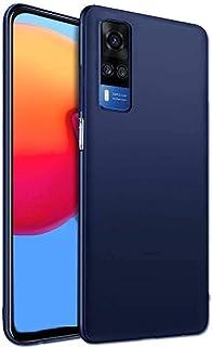 غطاء حماية خلفي سليكون لجهاز فيفو Y51 2020 - أزرق