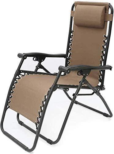 Office Life Stühle, Hocker, Klappstühle Klappbarer Liegestuhl für Siesta Canvas Sun Beach Chair im Freien (Farbe: Rot, Größe: 526283 cm)