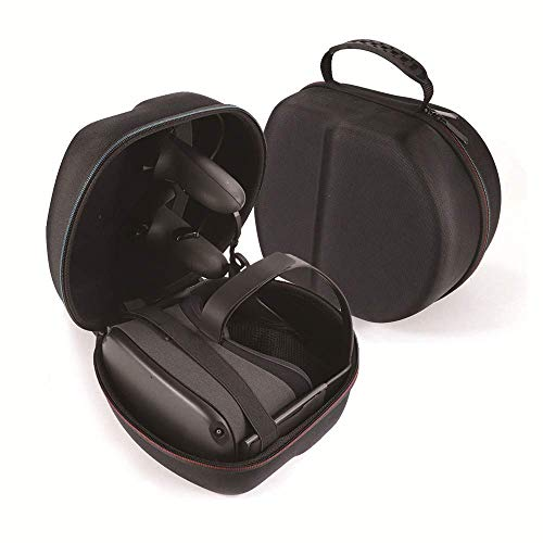 AFAITH harde schaal koffer voor Oculus Quest all-in-one VR-gaming headset, Oculus Quest Protective Storage Travel Box - zwart