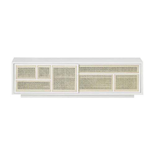Design House Stockholm Air Sideboard niedrig, weiß Esche gebeizt BxHxT 180x50x38cm