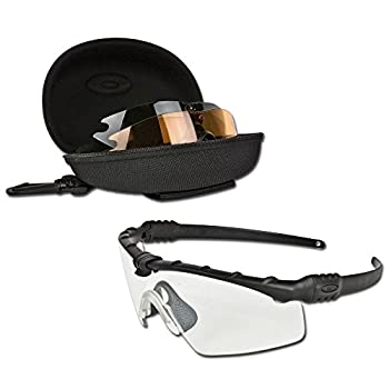 Oakley SI Ballistic M Frame 3.0 Array with Black Frame and Clear Grey and Persimmon Lenses