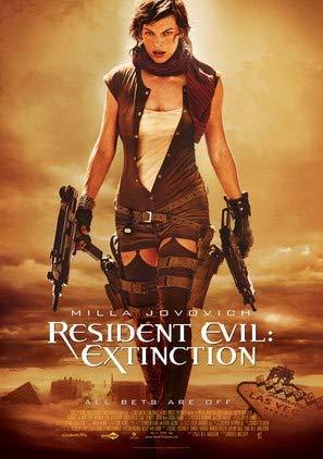 Resident Evil : Extinction – U.S Film Poster Plakat Drucken Bild - 43.2 x 60.7cm Größe Grösse Filmplakat
