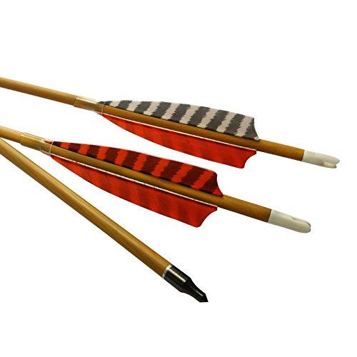 Elong 6pk 30' Archery Carbon Arrows Wood Camo Spine 600...