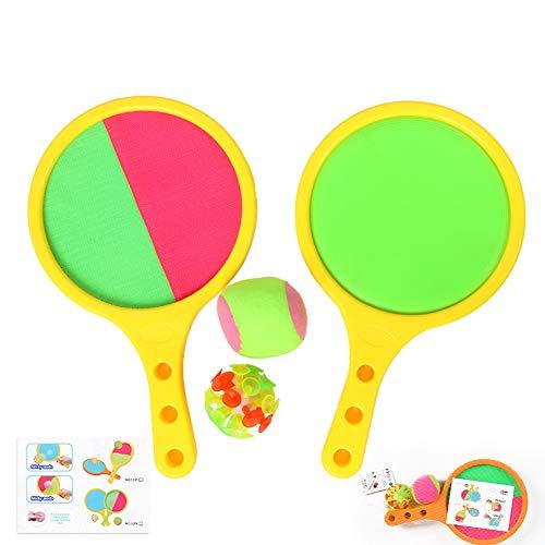 Juego de raqueta de pelota Toss and Catch, para interiores y exteriores,...