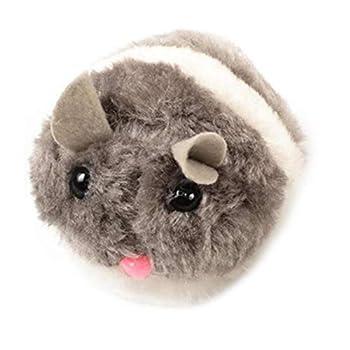Clockwork Souris Jouet pour Chien Chat Animaux De Compagnie Mignon en Peluche Rat Jouet Chat Catch Kitten Toy Cat Play Et Chase