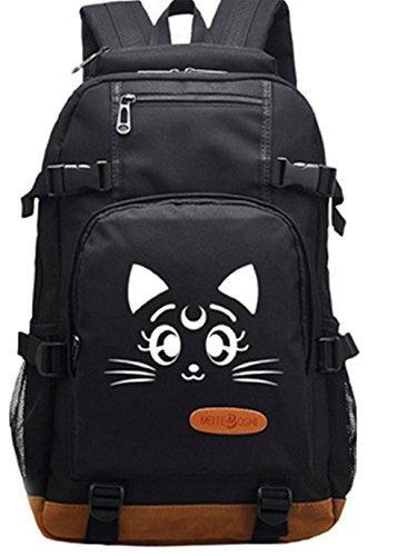 Gumstyle Sailor Moon Luminous School Bag College Backpack Bookbags Student Laptop Bags