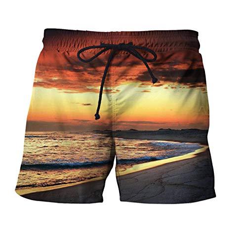 Pietra Surfing Uomini Pantaloncini Estate Beach Pant 3D Stampante Abbigliamento Nuotata Pantaloncini Sciolti Quick Dry Bodybuilding STKQ021 4X-Large