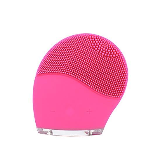 JYTTCE Silicone gezichtsborstel reinigingsinstrument poriënreinigingsmiddel elektrisch wasmiddel vibratie massage waterdicht oplaadbaar