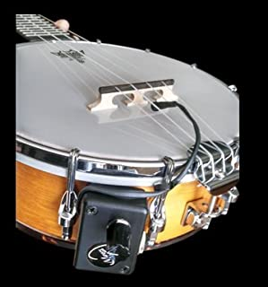 RESONATOR BANJO PICKUP with FLEXIBLE MICRO-GOOSE NECK by Myers Pickups