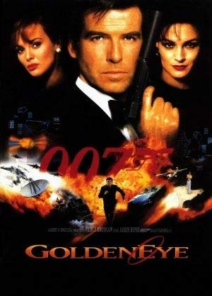GoldenEye - James Bond - U.S Movie Wall Poster Print - 43cm x 61cm / 17 Inches x 24 Inches A2 007