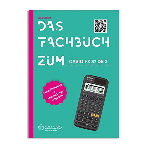 Schutztasche und MatheFritz Lern-CD Casio FX 87 DE Plus Taschenrechner