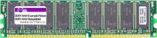 2GB Kit (2x 1GB) Kingston DDR1 RAM PC3200U CL3 400MHz 3-3-3 KVR400X64C3AK2/2G (Zertifiziert und Generalüberholt)