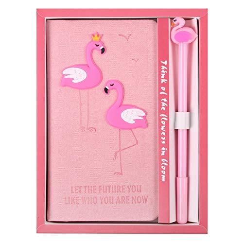 Cuaderno rosa Kawaii con bolígrafo de gel, Bloc de notas para niñas, caja de regalo, conjunto de útiles escolares, planificadores,papelería,cuaderno debocetos 01