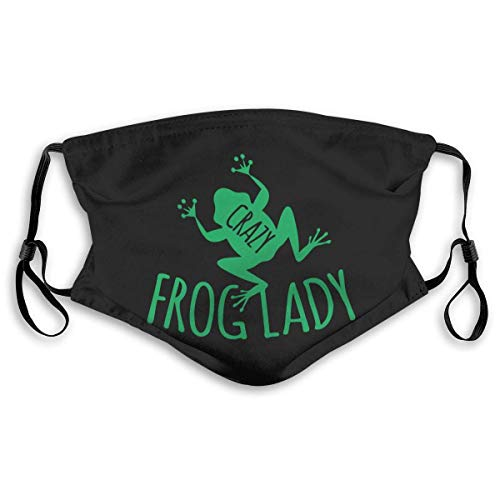Crazy Frog Lady mask Facial Decoration with 2 Filter Chip