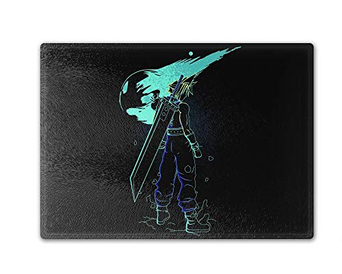 Shadow Of The Meteor Cutting Board Tempered Glass 11.25 x 15.5