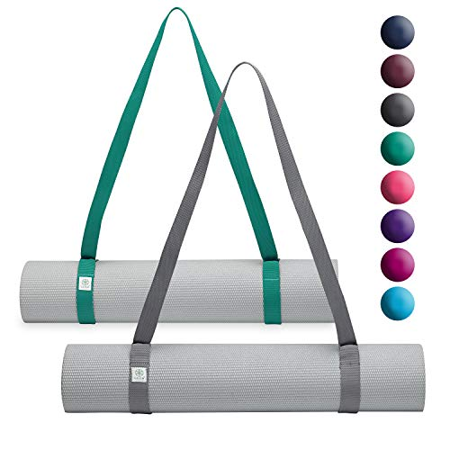 Gaiam Easy-Cinch Yoga Mat Sling, Assorted Color, 1 Count