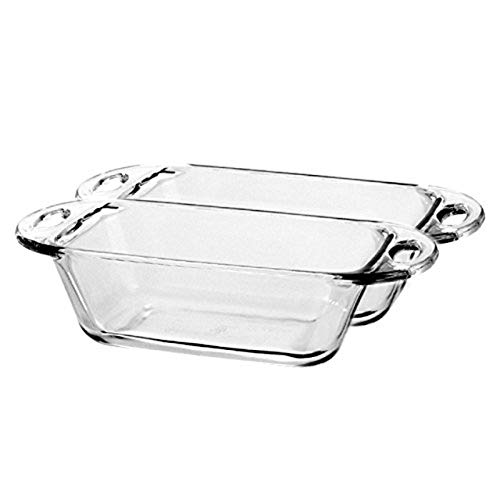 Anchor Hocking 1.5-Quart Premium Loaf Dish, Set of 2
