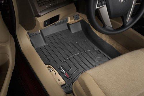 WeatherTech  441761  Custom Fit Front FloorLiner for Nissan Frontier/Suzuki Equator (Black)