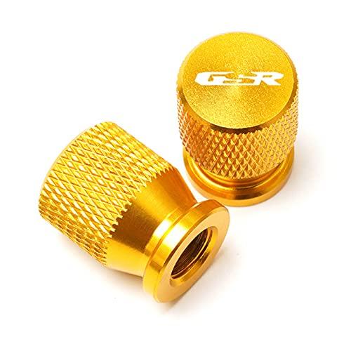 Qwjdsb para Suzuki GSR750 GSR600 GSR400, Tapas de válvula de neumático de Rueda GSR, Cubiertas de Puerto de Aire de Aluminio CNC, Accesorios de Motocicleta