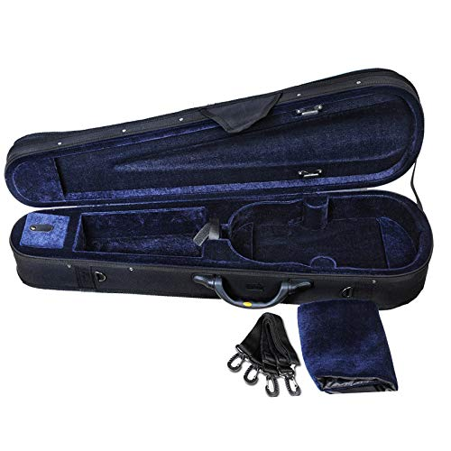 ADM 4/4 Full Size Violin Hard Case Basic Professional Triangular
