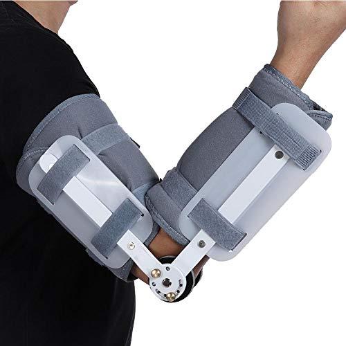 Rehabilitación de miembro superior Soporte de férula Restricción de brazo Protector Protector Abrazadera Antebrazo Fijación de fractura Articulación del codo Corrector de órtesis(L) 🔥