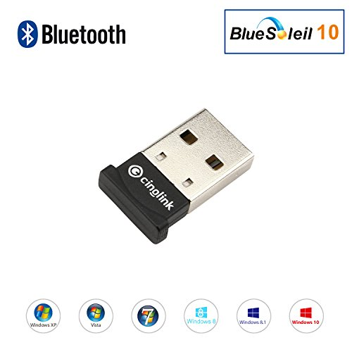 Bluetooth Adapter for Laptop Windows 10 Bluetooth 4.0 dongle for Cinolink