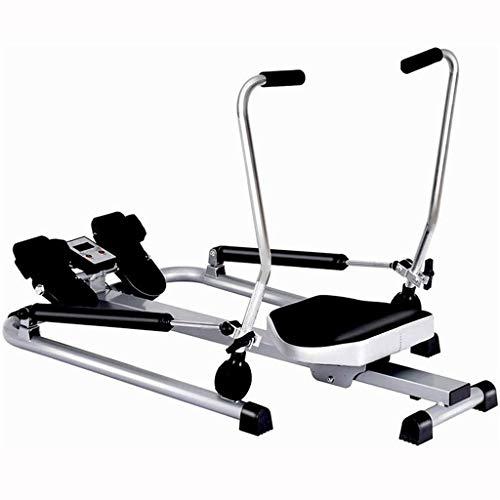 Máquinas de remo para el hogar, hidráulica, Equipo de Aptitud Deportivo Multifuncional, Ejercicio de 360 ° para Manos, piernas y Espalda. (Color : Black, Size : 115 * 90 * 66cm)
