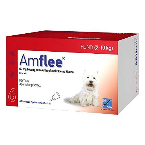 TAD Pharma GmbH Amflee 67 mg Spot-on Lösu 6 STK