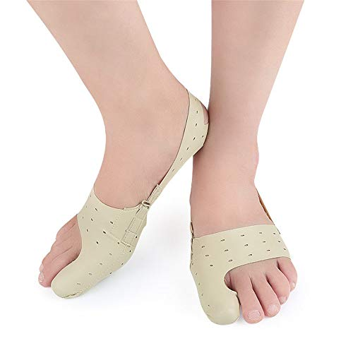 Hallux Valgus Separator für große Zehen Korrektoren und Unterstützung, hilft mit Hallux Valgus Toe Feet Schmerzlinderung Kissen Wanderschuhe auch für Yoga (1 Paar 2 Tabletten) für Nacht- und Tageszeit